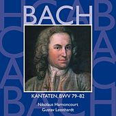 Bach, JS : Sacred Cantatas BWV Nos 79 - 82 von Various Artists
