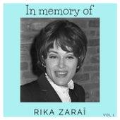 In memory of Rika Zaraï Vol.1 von Rika Zaraï