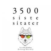 3500 siste sitater (Samle de beste tilbudene) by Albert Einstein