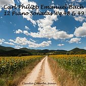 Carl Philipp Emanuel Bach : 12 Piano Sonatas, Wq. 48 'Prussian' & Wq. 49 'Württemberg' by Claudio Colombo