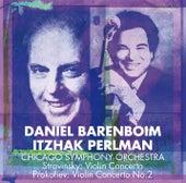 Stravinsky : Violin Concerto & Prokofiev : Violin Concerto No.2 de Daniel Barenboim