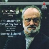 Tchaikovsky : Symphony No.2, 'Little Russian' & Romeo and Juliet de Kurt Masur