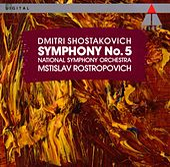 Shostakovich : Symphony No.5 de Mstislav Rostropovich