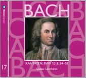 Bach, JS : Sacred Cantatas BWV Nos 52 & 54 - 56 by Gustav Leonhardt