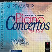 Mendelssohn : Piano Concertos Nos 1, 2 & Concerto for Piano & Strings by Various Artists