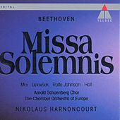 Beethoven : Missa Solemnis by Nikolaus Harnoncourt