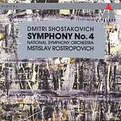 Shostakovich : Symphony No.4 de Mstislav Rostropovich