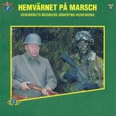 Hemvärnet på marsch de Hemvärnets musikkår Jönköping-Huskvarna