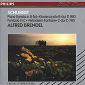 Schubert: Piano Sonata in B flat; Fantasy in C by Alfred Brendel