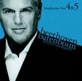Beethoven : Symphonies Nos 4 & 5 by Daniel Barenboim