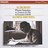 Schubert: Piano Sonatas in A minor, D.784 & D, D.850 by Alfred Brendel