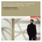 Mozart: Violinkonzerte Nr. 3, 4 & 5 von Leonidas Kavakos