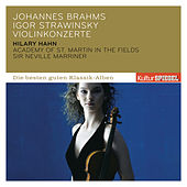 Stravinsky & Brahms: Violin Concertos von Hilary Hahn