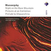 Mussorgsky : Pictures at an Exhibition [Apex] von Toronto Symphony Orchestra and Jukka-Pekka Saraste (conductor)