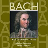 Bach, JS : Sacred Cantatas BWV Nos 163 - 166 von Various Artists