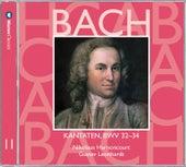 Bach, JS : Sacred Cantatas BWV Nos 32 - 34 by Gustav Leonhardt
