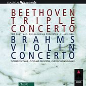 Beethoven : Triple Concerto & Brahms : Violin Concerto by Various Artists