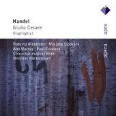 Handel : Giulio Cesare in Egitto [Highlights] von Nikolaus Harnoncourt