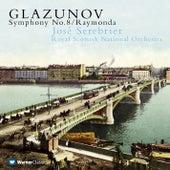 Glazunov : Symphony No.8 & Raymonda Suite de José Serebrier
