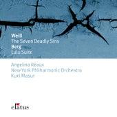Weill : The 7 Deadly Sins & Berg : Lulu Suite de Kurt Masur