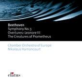 Beethoven : Symphonies Nos 1 & 3, 'Eroica' & Overtures (-  Elatus) by Nikolaus Harnoncourt