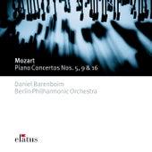 Mozart : Piano Concertos Nos 5, 9 & 16 by Daniel Barenboim