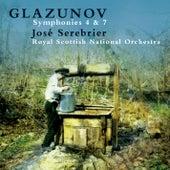 Glazunov : Symphonies Nos 4 & 7 de José Serebrier