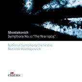 Shostakovich : Symphony No.11, 'The Year 1905' de Mstislav Rostropovich