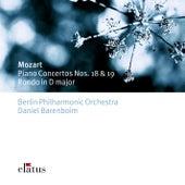 Mozart : Piano Concertos Nos 18, 19, Rondo K382 von Daniel Barenboim