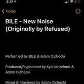 New Noise by Bile