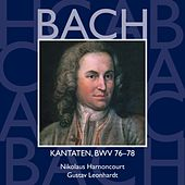 Bach, JS : Sacred Cantatas BWV Nos 76 - 78 von Various Artists