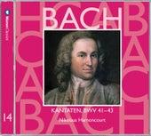 Bach, JS : Sacred Cantatas BWV Nos 41 - 43 by Nikolaus Harnoncourt