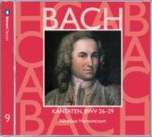 Bach, JS : Sacred Cantatas BWV Nos 26 - 29 by Nikolaus Harnoncourt