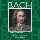 Bach, JS : Sacred Cantatas BWV Nos 134 - 137 von Various Artists