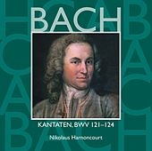 Bach, JS : Sacred Cantatas BWV Nos 121 - 124 von Nikolaus Harnoncourt