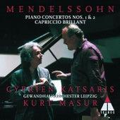 Mendelssohn : Piano Concertos Nos 1, 2 & Capriccio brillant by Kurt Masur