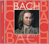 Bach, JS : Sacred Cantatas BWV Nos 20 & 21 by Nikolaus Harnoncourt