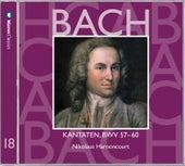 Bach, JS : Sacred Cantatas BWV Nos 57 - 60 by Nikolaus Harnoncourt