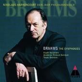 Brahms : Symphonies Nos 1 - 4 by Nikolaus Harnoncourt
