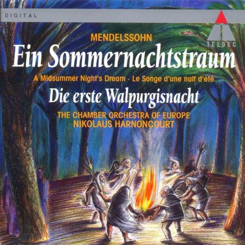 Mendelssohn : A Midsummer Night's Dream & The First Walpurgis Night by Nikolaus Harnoncourt