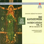 Bach, JS : Sacred Cantatas Vol.10 : BWV 183-188, 192, 194-199 von Various Artists