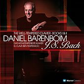 Bach, JS : Well-Tempered Clavier Books 1 & 2 de Daniel Barenboim