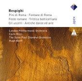 Respighi : Pini di Roma, Fontane di Roma, Fest Romane, Trittico, Gli Uccelli, Antiche danze von Hugh Wolff