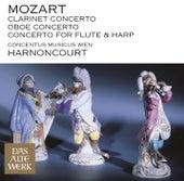 Mozart: Clarinet Concerto, Oboe Concerto & Concerto for Flute and Harp by Nikolaus Harnoncourt