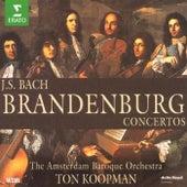 Bach, JS : Brandenburg Concertos Nos 1 - 6, Triple Concerto & Organ Concerto de Ton Koopman