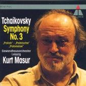 Tchaikovsky : Symphony No.3, 'Polish' de Kurt Masur