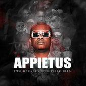 Appietus (Two Decades of Hiplife Hits) by Wutah, Okomfour Kwadee, Borax, Lord Kenya, Omanhene Pozo, Barima Sidney, Keteke, 4x4, EBO, Daddy Lumba, Andy, Praye, D2, Cash Unit, Rex Omar, Tinny, Buk Bak, Appietus, Sarkodie, Bradez