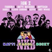 Natti, Karol, Becky (feat. KEVVO, Brytiago, Darell, Eladio Carrión & Miky Woodz) (Remix) de Jon Z