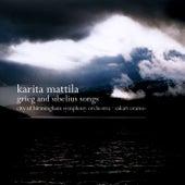 Grieg & Sibelius : Orchestral Songs von Karita Mattila