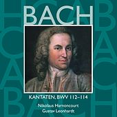 Bach, JS : Sacred Cantatas BWV Nos 112 - 114 von Various Artists